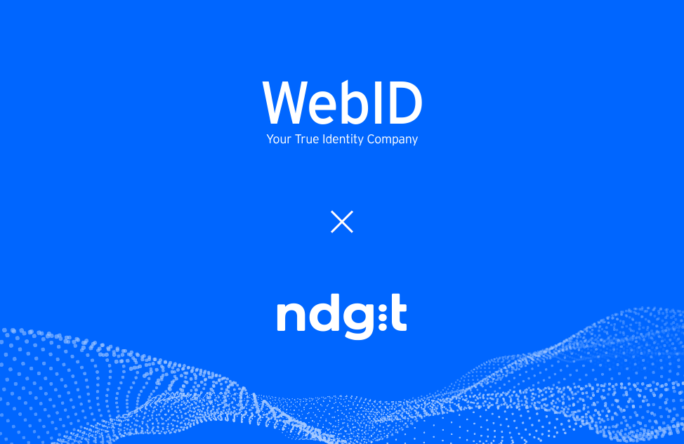 ndgit and online identification specialist WebID partner for building digital financial ecosystems